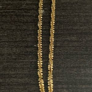 Necklace gold 14k 12 in jewelry chain